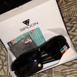Silicon polarized sunglasses